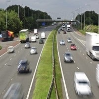 UK Consumer Attitudes on Motor Insurance Infographic and Full Study cars on highway