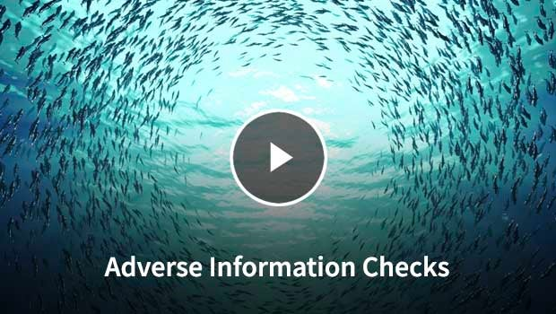 Adverse Information Checks Video